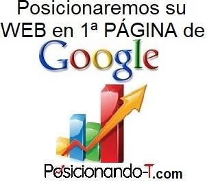 Posicionamos su WEB en Google